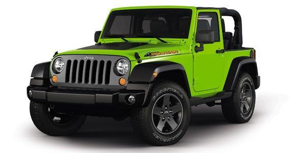 Llega el Jeep Wrangler Mountain