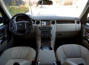 Land Rover Range Rover Discovery, salpicadero