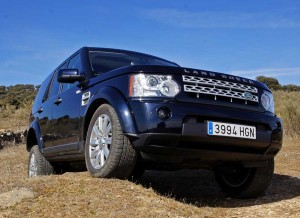 Land Rover Range Rover Discovery, suspensiones