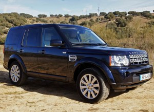 Land Rover Range Rover Discovery, lateral