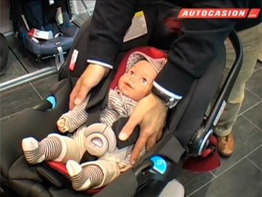 Sistemas de retención infantil: grupos de sillitas