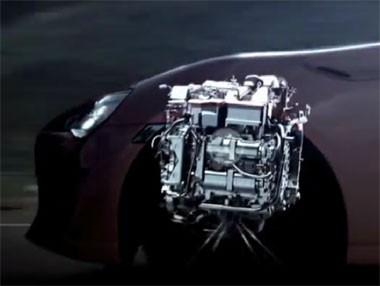 El motor del Toyota GT 86 al desnudo