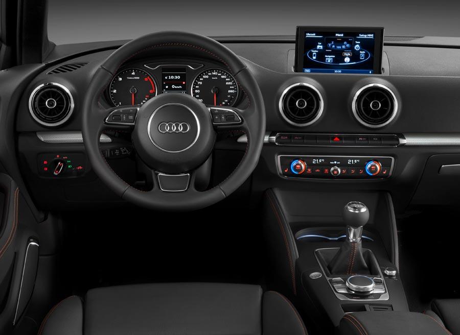 Interior del nuevo Audi A3.