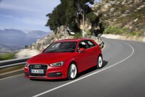 Audi A3, curva
