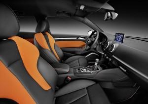 Audi A3, habitaculo