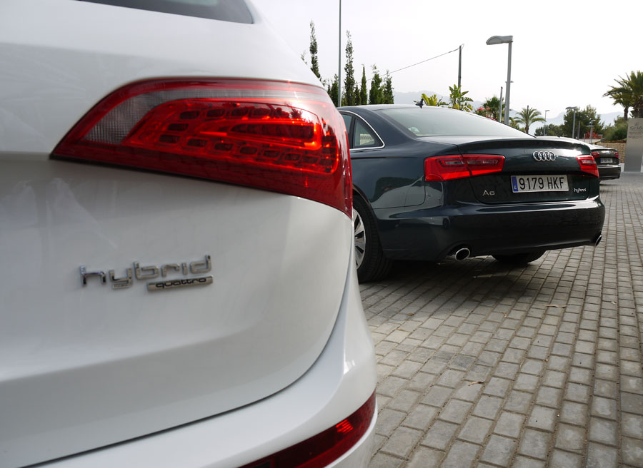 Audi Q5 Hybrid, Rubén Fidalgo.