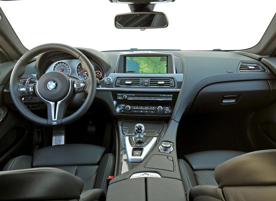 Interior del nuevo BMW M6.
