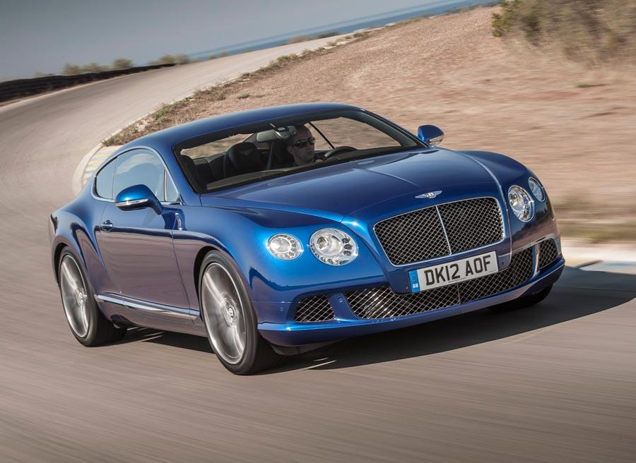El Bentley Continental GT Speed emplea 4,2 segundos en acelerar de 0 a 100 km/h.
