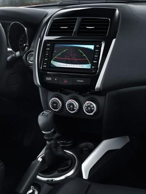 Citroën C4 Aircross, consola central