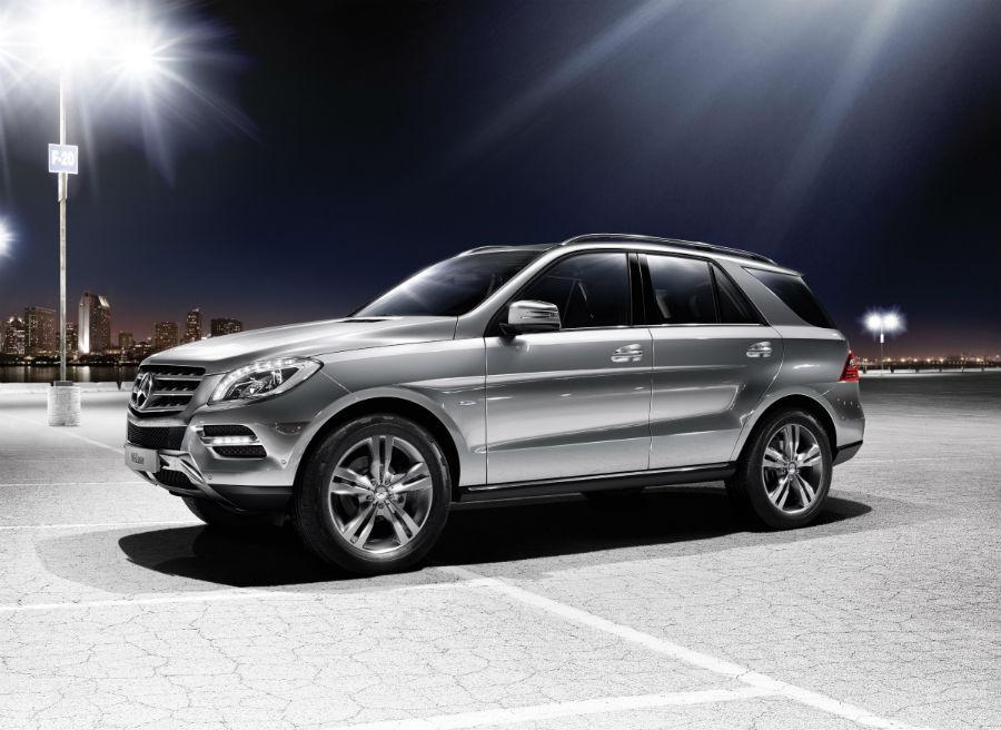 El nuevo Nuevo Mercedes ML 500 4MATIC BlueEFFICIENCY llega a los concesionarios en octubre.