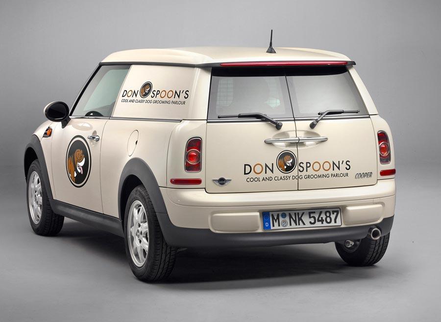 El Mini Clubvan es el primer modelo de la marca orientado al mundo comercial.