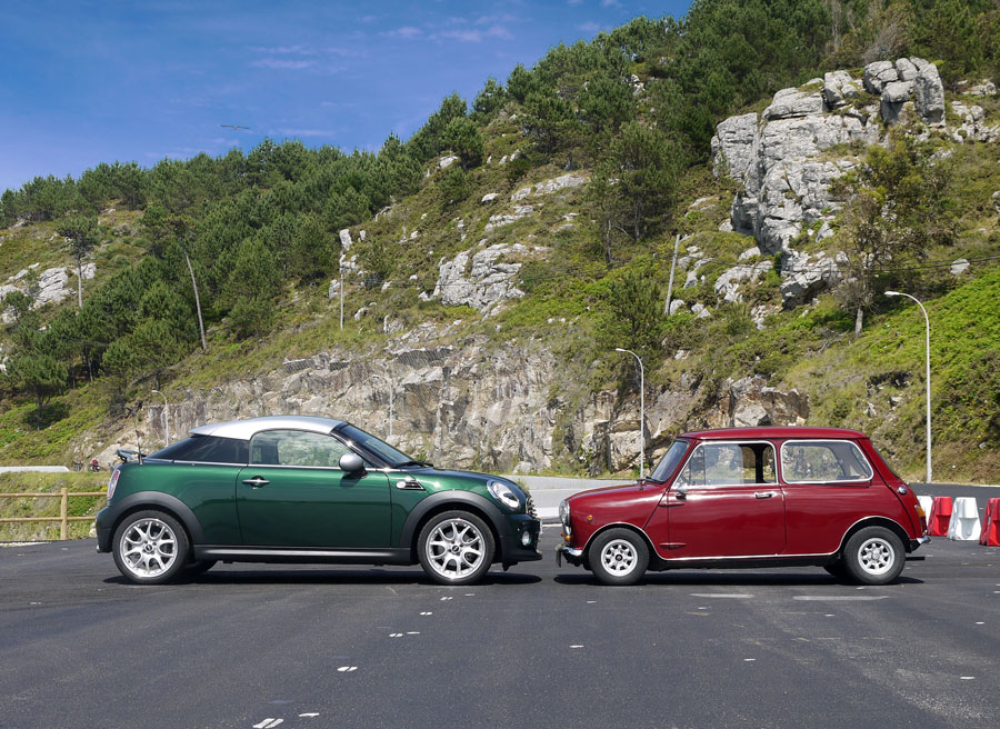 Mini Coupe Cooper, Baiona, Rubén Fidalgo