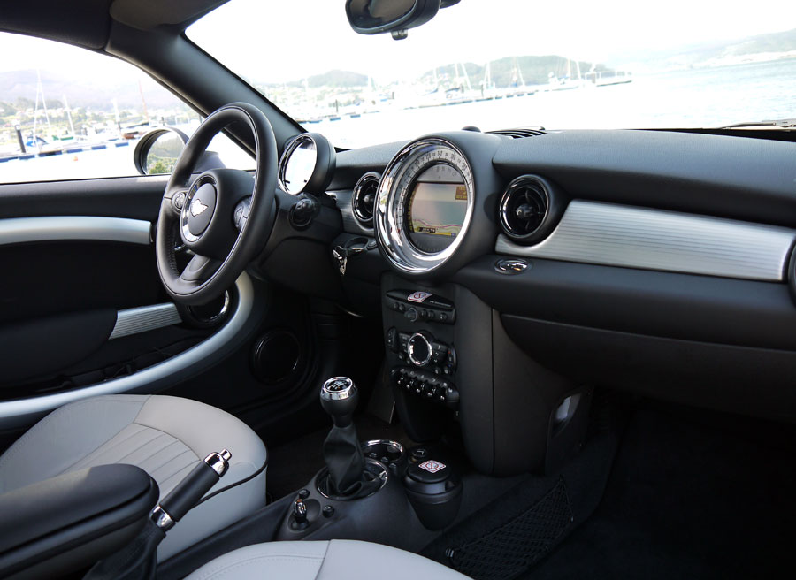 Mini Coupe Cooper, Interior, Rubén Fidalgo