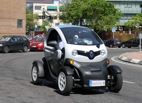 Renault Twizy, frontal