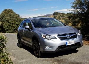 Subaru XV, asfalto