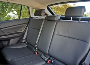 Subaru XV, asientos traseros