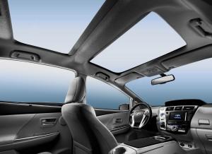 Toyota Prius +, techo panorámico