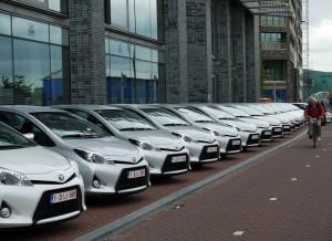 Toyota Yaris Hybrid, Amsterdam, Rubén Fidalgo