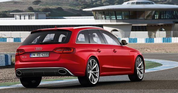 En otoño llega el Audi RS4 Avant, con 450 CV