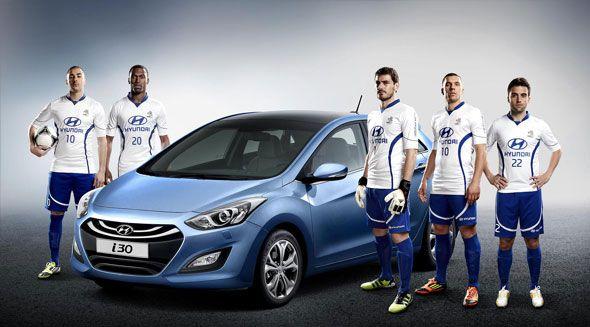 Hyundai pone sus coches en la Eurocopa 2012