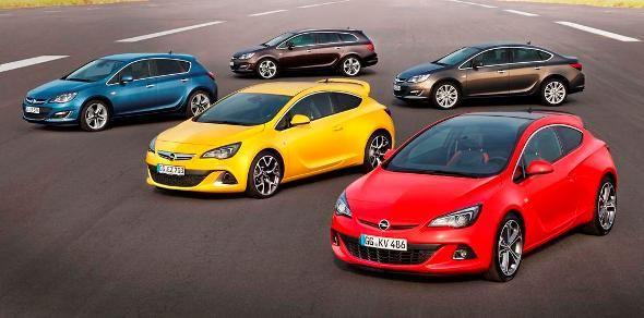 Opel actualiza la gama del Astra