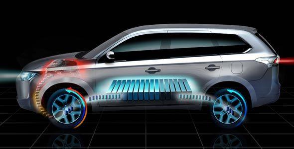 Mitsubishi Outlander híbrido: llega en 2013