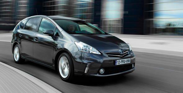 Al volante del nuevo Toyota Prius +