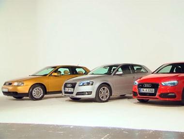 Así ha cambiado el Audi A3: todas las generaciones