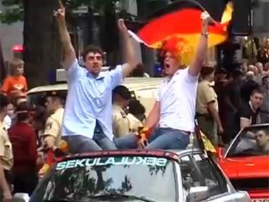 Celebra la Eurocopa con seguridad en el coche