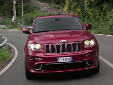 Jeep Grand Cherokee SRT, en vídeo