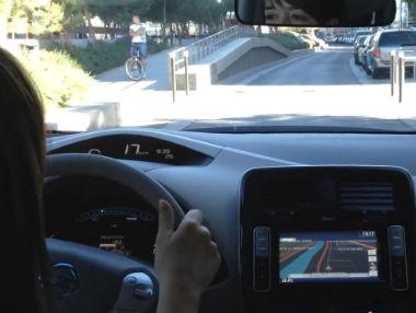 Nissan Leaf: prueba urbana