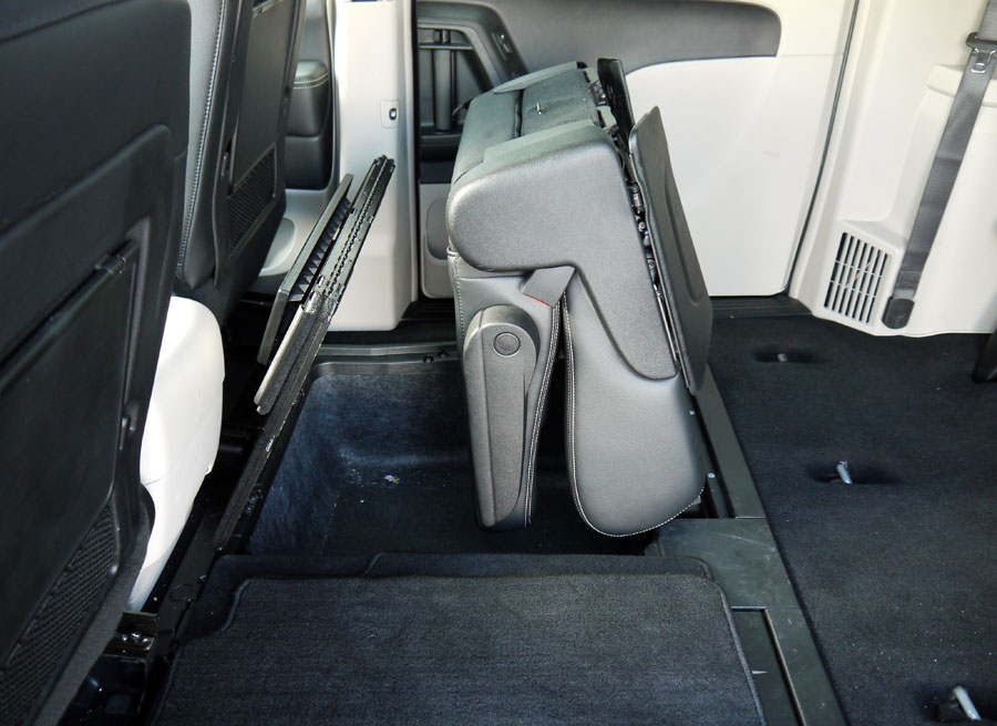 Lancia Voyager, plegado de asientos, Rubén Fidalgo