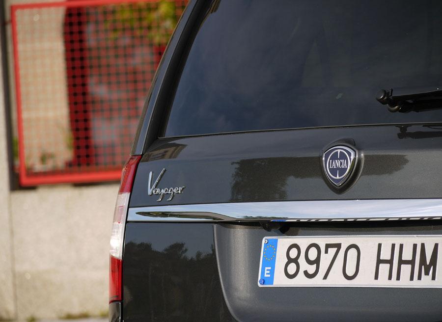 Lancia Voyager, portón trasero, Rubén Fidalgo