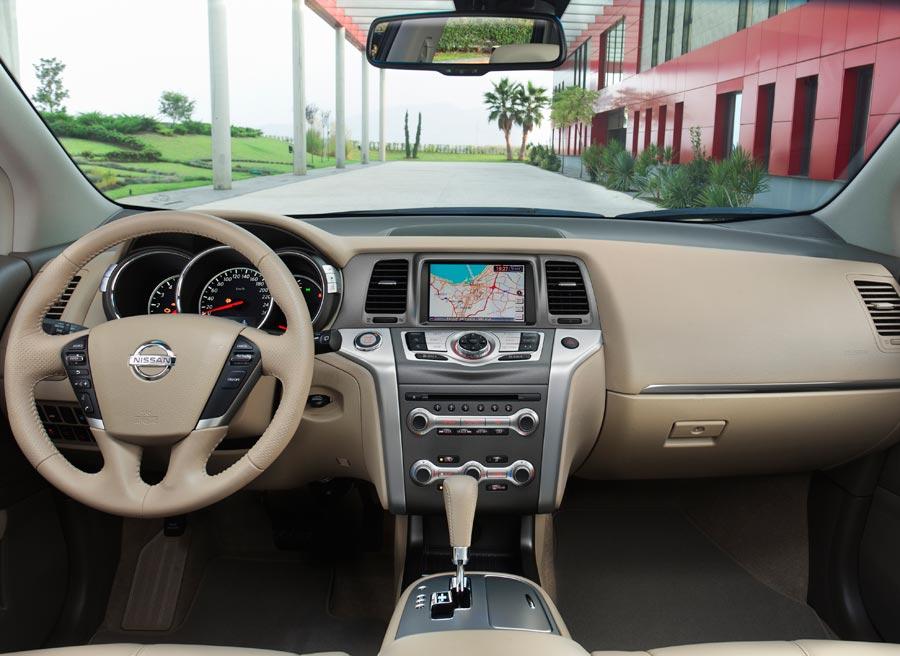 El Nissan Murano se desmarca del resto de la gama 4x4 de Nissan con unos acabados de mucha más calidad.