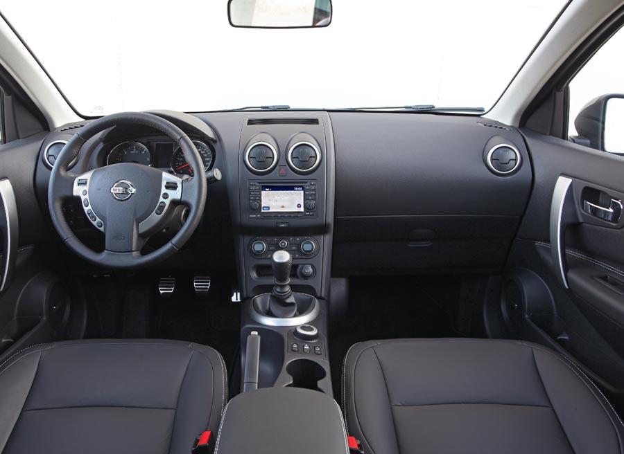 Sobrio y funcional, así es el interior del Nissan Qashqai.
