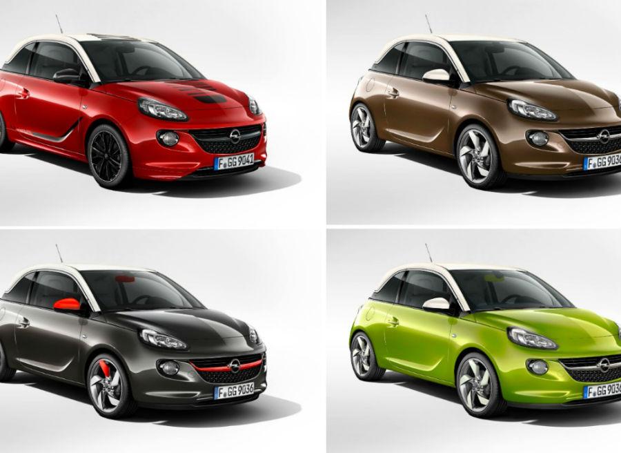 Las posibilidades de personalización del Opel Adam son prácticamente infinitas.