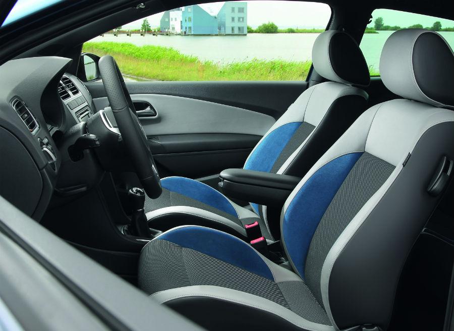 El Volkswagen Polo Blue GT incorpora unos nuevos asientos exclusivos de corte deportivo.