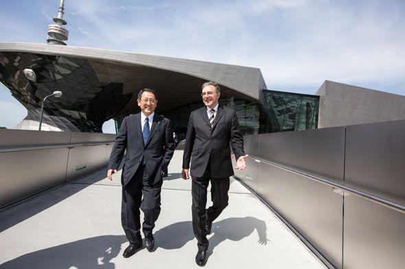 BMW y Toyota cooperarán para el desarrollo de coches eléctricos y de hidrógeno