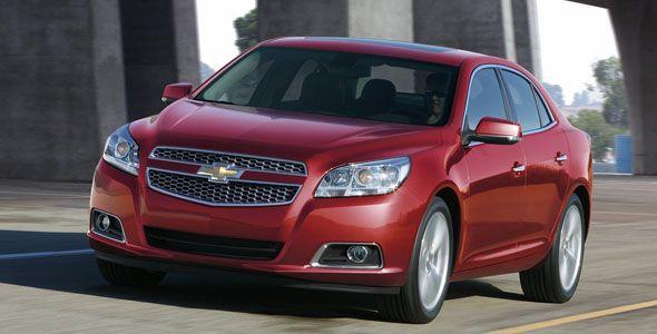 Chevrolet Malibu: cambios interiores