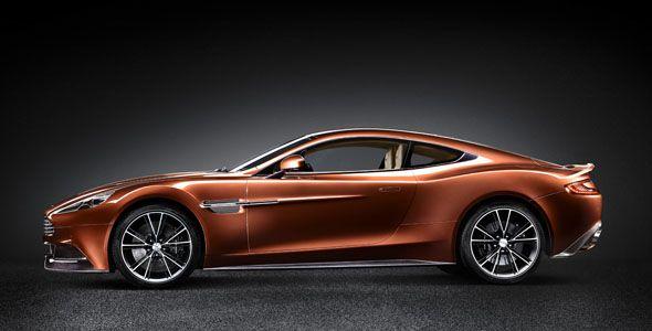 Aston Martin Vanquish, a finales de año