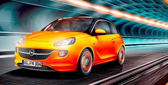 Opel Adam en el Salón de París
