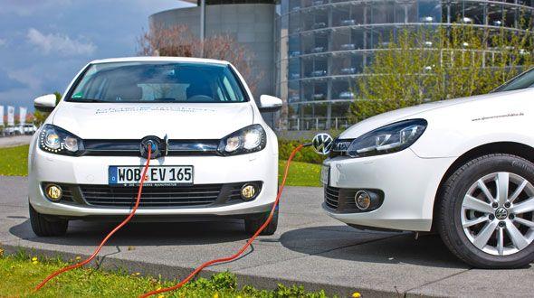 "Volkswagen Golf ""Blue-e-Motion"": 100% eléctrico, en Madrid"