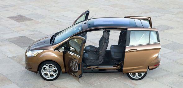 Te abrimos las puertas del nuevo Ford B-Max