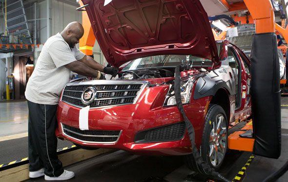 Sale de la cadena de montaje el primer Cadillac ATS