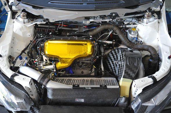 Así es el motor de un coche de carreras: Honda HR412E