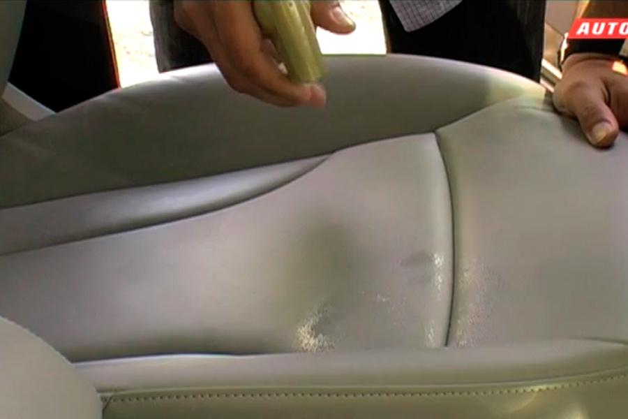 Cómo limpiar la tapicería de cuero