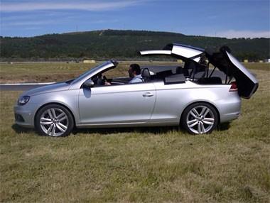Volkswagen Eos, coreografía descapotando