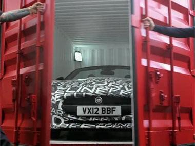 El Jaguar F-Type rueda en Goodwood 2012