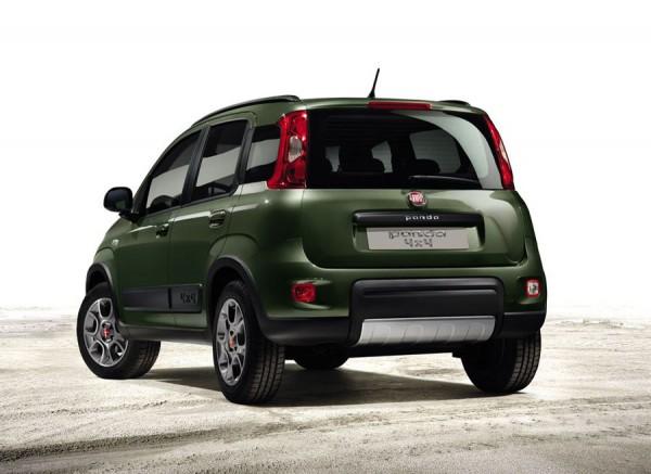 La altura al suelo de este Fiat Panda ha aumentado.