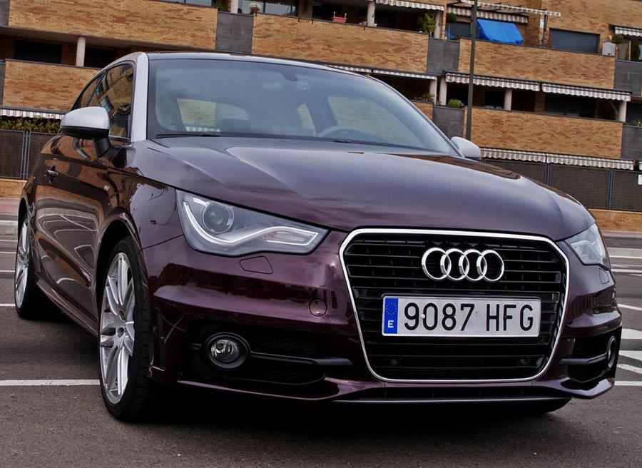 El pequeño de la familia Audi es uno de los modelos que más simpatías despierta. Foto: Jordi Villanueva.